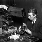 Počátky televize: Vznikl první přístroj z věcí z vetešnictví?
