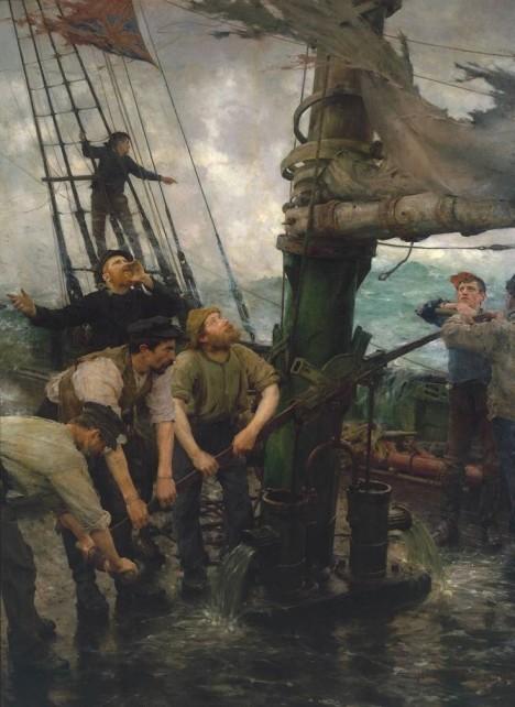 Námořníci často bojovali s krutými nemocemi.