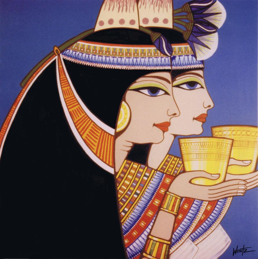 egyptian_wine__the_ladies_snowsowhite.deviantart.com