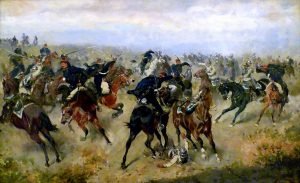 Bitva u Hradce Králové: Přežili rakouští vojáci útok nepřátel ve stromě?