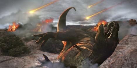 Před zhruba 66 miliony let do oblasti dnešního Mexika dopadl asi 10kilometrový asteroid, který způsobil vyhynutí dinosaurů.