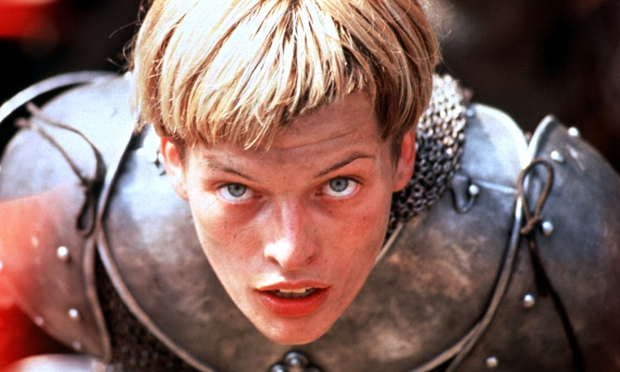 The 1999 film The Messenger: The Story of Joan of Arc, starring Milla Jovovich.