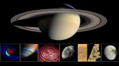 Podle jedné hypotézy způsobují zvuky úlomky ledu dopadající na prstence. Jiná teorie je přičítá zábleskům polární záře.