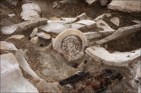 Archeologické nálezy potvrzují čínský, mongolský a budhistický vliv.