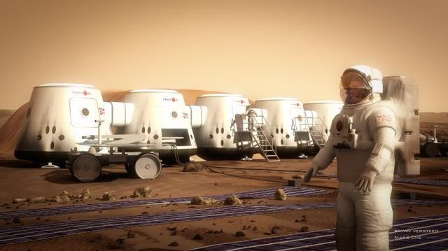 Mars-Kolonie / Pitzke