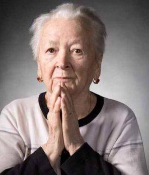 modlící se žena