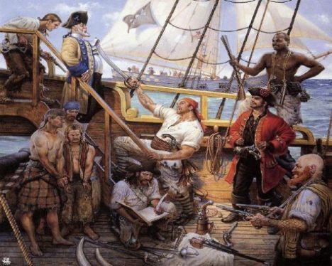 Foto: Honba za pokladem Oliviera Levasseura: Porozumí někdo pirátovým instrukcím?