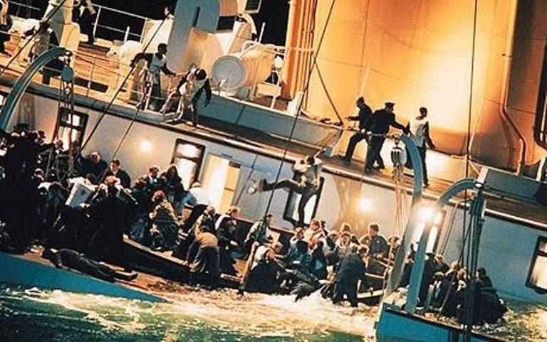 panika na Titaniku