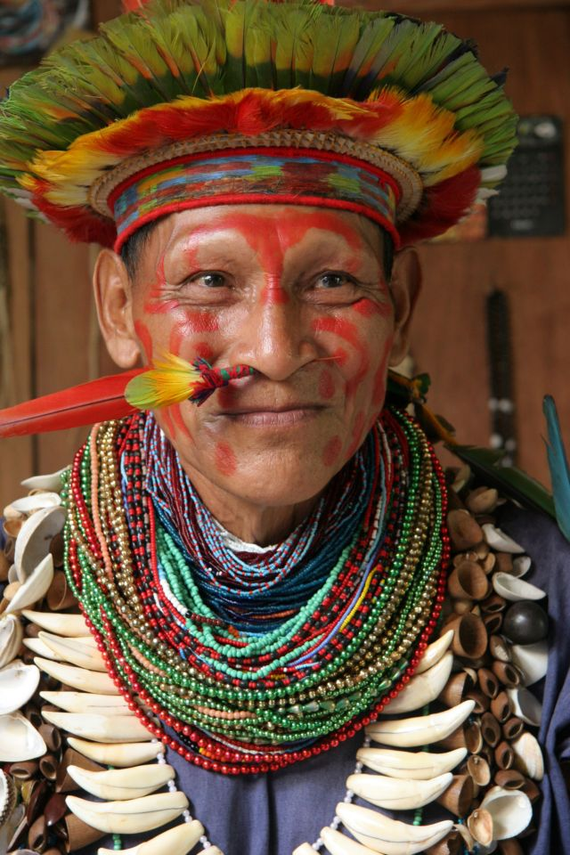 peruánský šaman