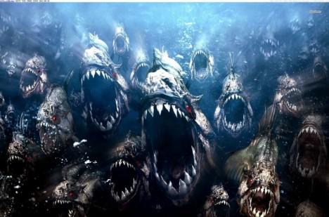 Nestvůry udělaly z piraní hlavně hororové filmy.