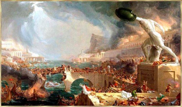 požár Alexandrie