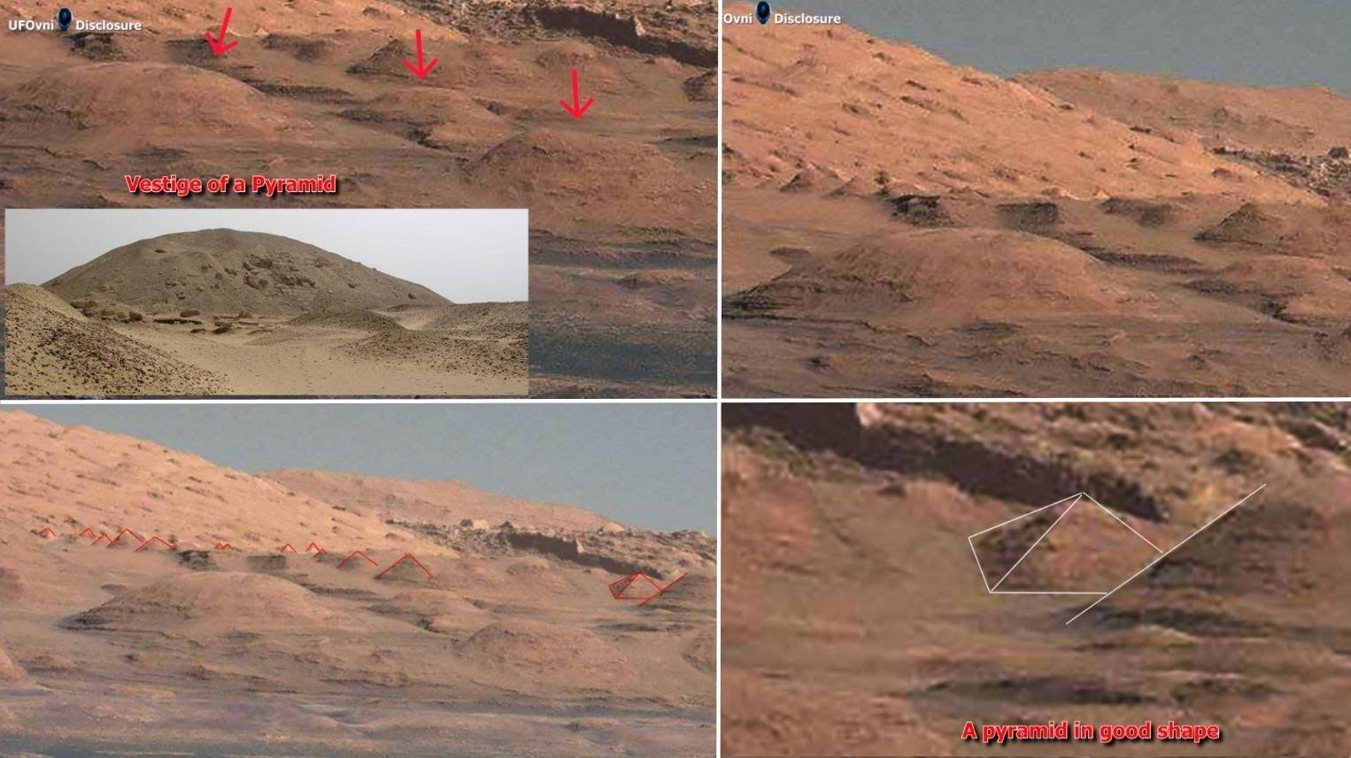 Postavili pyramidy na Zemi a na Marsu stejní tvůrci?