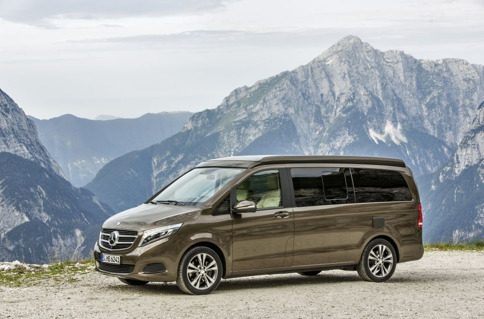 Der neue Marco Polo – 250 BlueTEC, Exterieur, dolomitbraun metallic  The New Marco Polo – 250 BlueTEC, Exterior, dolomite brown metallic
