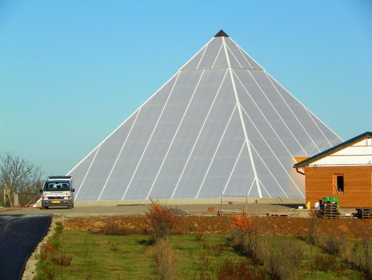 pyramida u Bohdalova