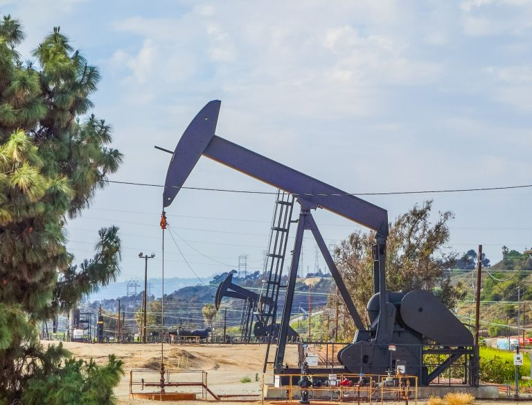 INGLEWOOD, USA - MAY 18, 2015: High dynamic range (HDR) Inglewood Oil Field is one of the largest contiguous urban oil fields in the United States since 1924. Inglewood is a city in southwestern Los Angeles County Image ID:510765235 Copyright: alarico Editorial Credit: alarico / Shutterstock.com