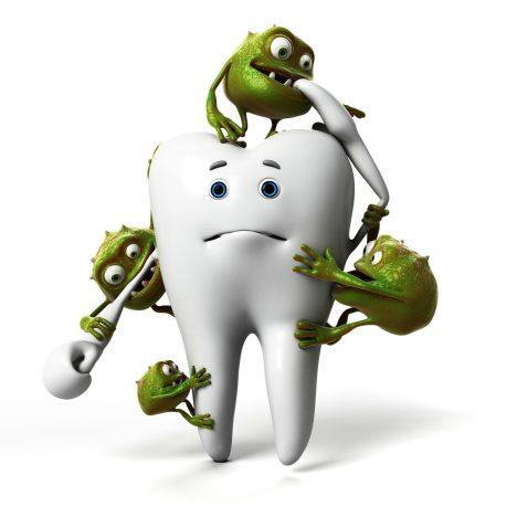 Foto: Jak vzniká zubní kaz?