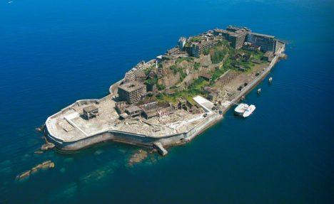 Foto: Ostrov Hašima: Proč je sem zakázáno cestovat?