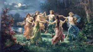 tančící víly