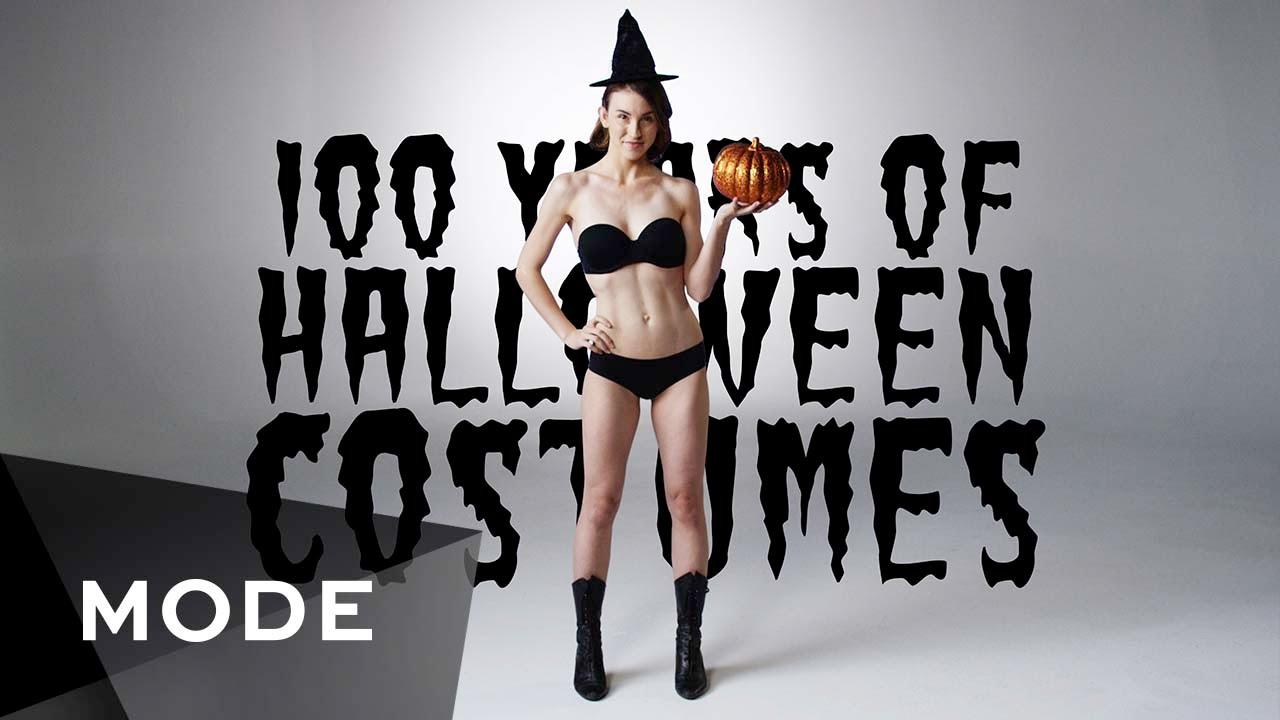 VIDEO: 100 let historie halloweenských kostýmů ve 3 minutách