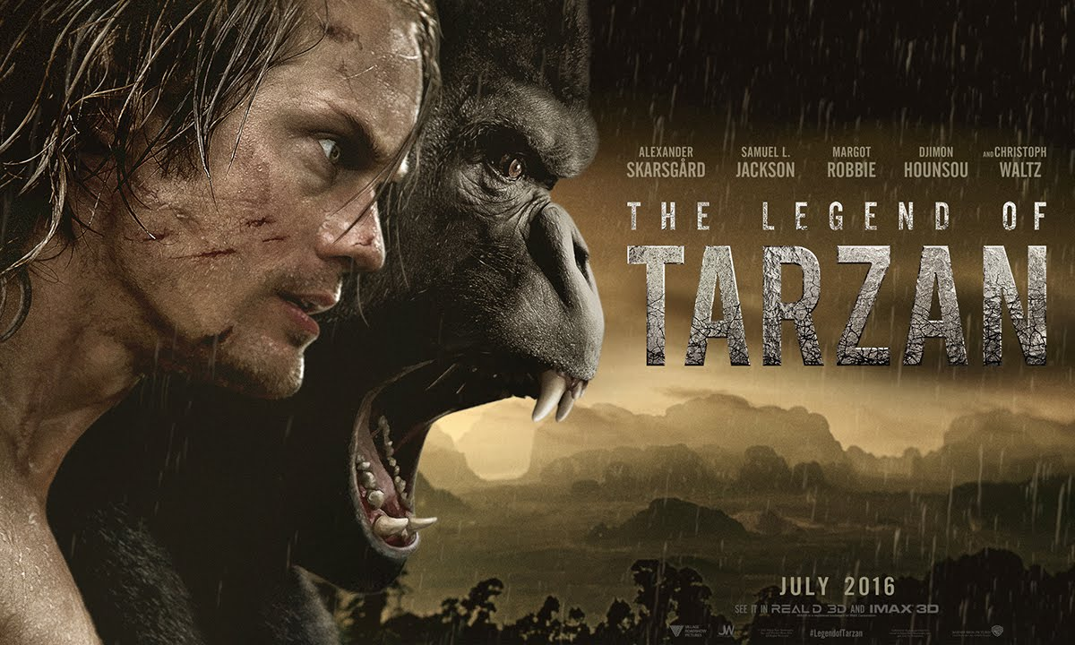 VIDEO: Hollywood opět oživuje Tarzana!