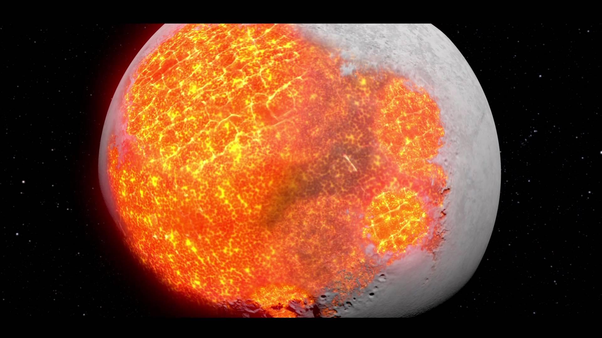 Video: Jak vznikla krátery zubožená tvář Měsíce?