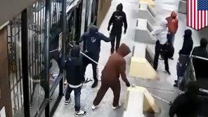VIDEO: Loupež zvládnou za 2 minuty