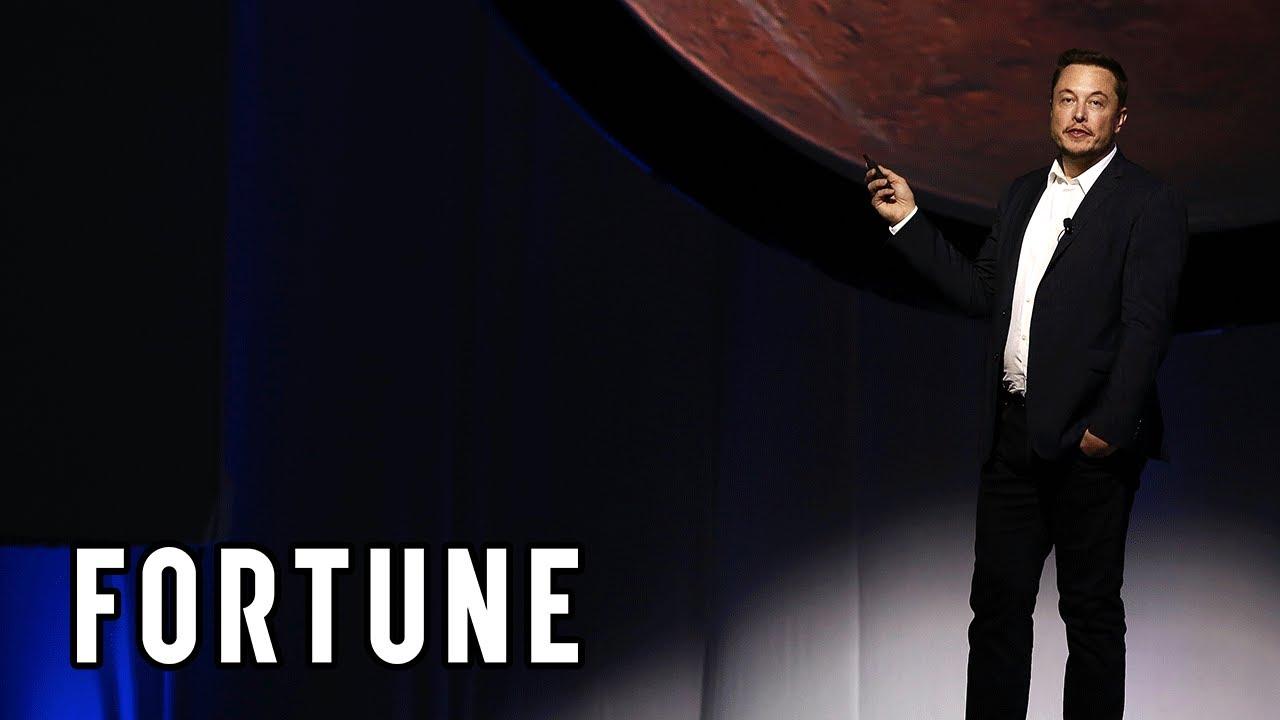 VIDEO: Projev amerického vizionáře o vystavění města na Marsu