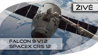 VIDEO: Start kosmické rakety Falcon 9 s lodí Dragon od společnosti SpaceX