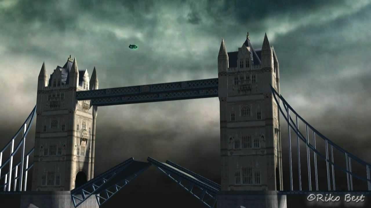 VIDEO: UFO nad Velkou Británií