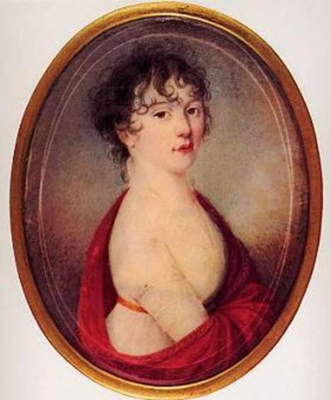 Portrét rakouské hraběnky Giulietty Guicciardiové má komponista u sebe. Možná byla jeho tajnou láskou...
